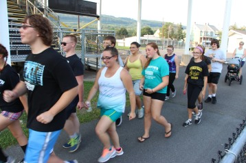 St. Luke's Health Walk, Health Walk, Panther Valley Football Stadium, Lansford (20)