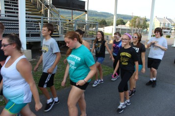 St. Luke's Health Walk, Health Walk, Panther Valley Football Stadium, Lansford (21)