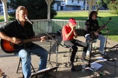 Sterling Koch Trio, Music In The Park, via Lansford Alive, Kennedy Park, Lansford (7)