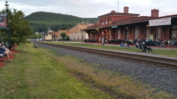 Steve Brosky & Jimmy Meyer, Tamaqua Chamber Summer Concert Series, Train Station, Tamaqua (13)