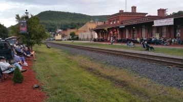 Steve Brosky & Jimmy Meyer, Tamaqua Chamber Summer Concert Series, Train Station, Tamaqua (14)