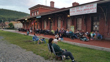 Steve Brosky & Jimmy Meyer, Tamaqua Chamber Summer Concert Series, Train Station, Tamaqua (15)