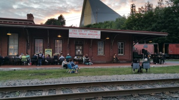 Steve Brosky & Jimmy Meyer, Tamaqua Chamber Summer Concert Series, Train Station, Tamaqua (3)