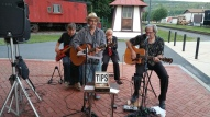Steve Brosky & Jimmy Meyer, Tamaqua Chamber Summer Concert Series, Train Station, Tamaqua (38)