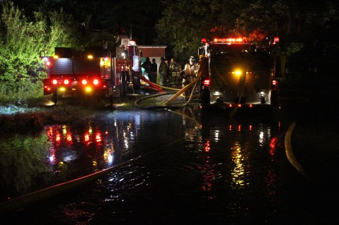 Structure Fire, 89 Park Place Road, Mahanoy Township, 8-8-2015 (104)