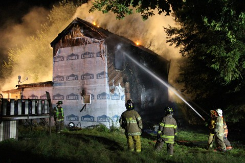 Structure Fire, 89 Park Place Road, Mahanoy Township, 8-8-2015 (29)