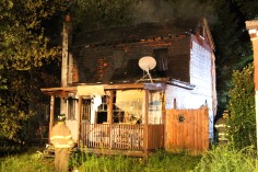 Structure Fire, 89 Park Place Road, Mahanoy Township, 8-8-2015 (300)