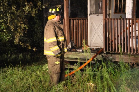 Structure Fire, 89 Park Place Road, Mahanoy Township, 8-8-2015 (313)