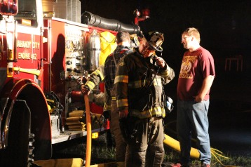Structure Fire, 89 Park Place Road, Mahanoy Township, 8-8-2015 (315)