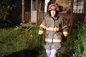 Structure Fire, 89 Park Place Road, Mahanoy Township, 8-8-2015 (319)
