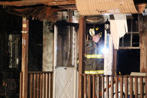 Structure Fire, 89 Park Place Road, Mahanoy Township, 8-8-2015 (332)