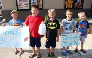 Tamaqua Indians Fundraising, Burger King, Tamaqua, 7-30-2015 (3)