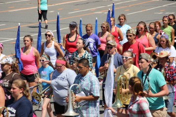 Tamaqua Raider Band Camp, Middle School Parking Lot, Tamaqua, 8-13-2015 (11)