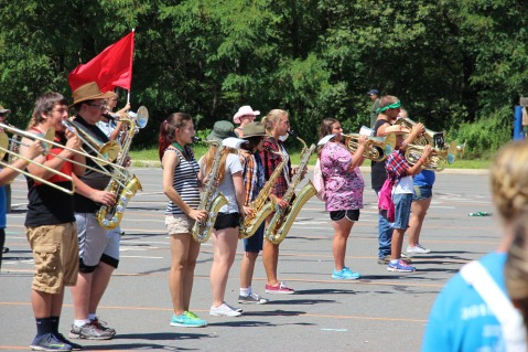 Tamaqua Raider Band Camp, Middle School Parking Lot, Tamaqua, 8-13-2015 (110)