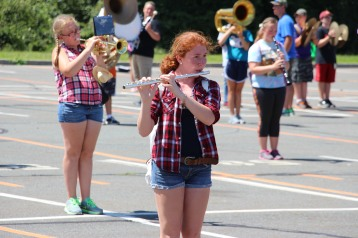 Tamaqua Raider Band Camp, Middle School Parking Lot, Tamaqua, 8-13-2015 (111)