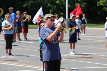 Tamaqua Raider Band Camp, Middle School Parking Lot, Tamaqua, 8-13-2015 (112)