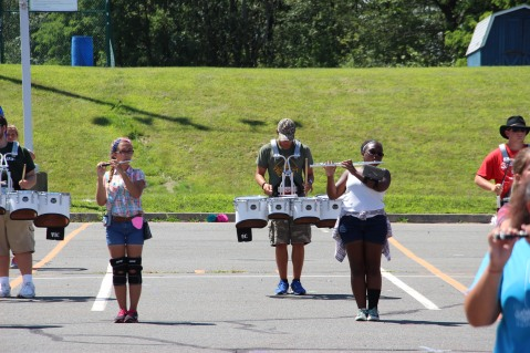 Tamaqua Raider Band Camp, Middle School Parking Lot, Tamaqua, 8-13-2015 (122)
