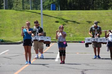 Tamaqua Raider Band Camp, Middle School Parking Lot, Tamaqua, 8-13-2015 (123)