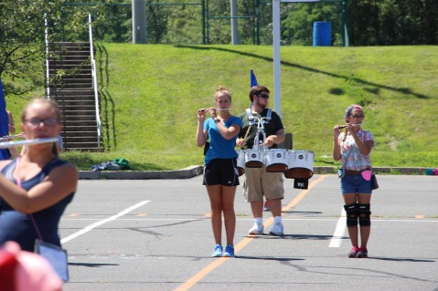 Tamaqua Raider Band Camp, Middle School Parking Lot, Tamaqua, 8-13-2015 (125)