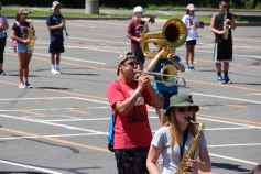 Tamaqua Raider Band Camp, Middle School Parking Lot, Tamaqua, 8-13-2015 (130)