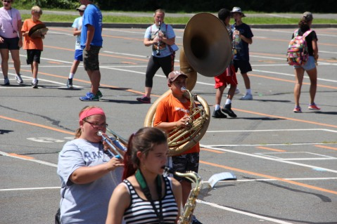 Tamaqua Raider Band Camp, Middle School Parking Lot, Tamaqua, 8-13-2015 (133)