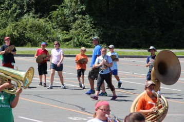 Tamaqua Raider Band Camp, Middle School Parking Lot, Tamaqua, 8-13-2015 (134)
