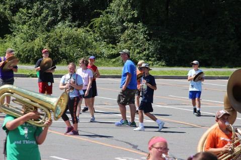 Tamaqua Raider Band Camp, Middle School Parking Lot, Tamaqua, 8-13-2015 (136)