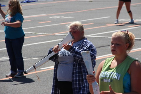 Tamaqua Raider Band Camp, Middle School Parking Lot, Tamaqua, 8-13-2015 (145)