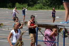 Tamaqua Raider Band Camp, Middle School Parking Lot, Tamaqua, 8-13-2015 (150)