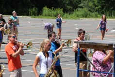 Tamaqua Raider Band Camp, Middle School Parking Lot, Tamaqua, 8-13-2015 (151)