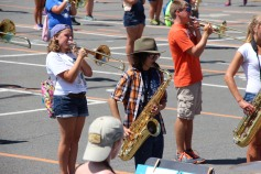 Tamaqua Raider Band Camp, Middle School Parking Lot, Tamaqua, 8-13-2015 (153)