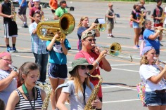 Tamaqua Raider Band Camp, Middle School Parking Lot, Tamaqua, 8-13-2015 (155)