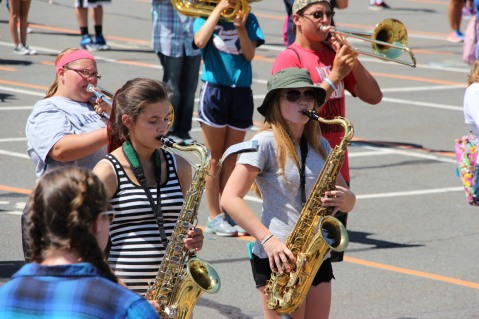 Tamaqua Raider Band Camp, Middle School Parking Lot, Tamaqua, 8-13-2015 (156)