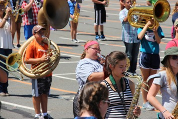 Tamaqua Raider Band Camp, Middle School Parking Lot, Tamaqua, 8-13-2015 (158)