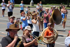 Tamaqua Raider Band Camp, Middle School Parking Lot, Tamaqua, 8-13-2015 (163)