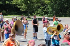 Tamaqua Raider Band Camp, Middle School Parking Lot, Tamaqua, 8-13-2015 (166)