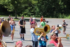 Tamaqua Raider Band Camp, Middle School Parking Lot, Tamaqua, 8-13-2015 (167)