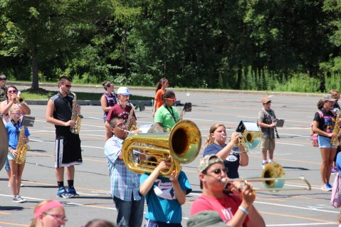 Tamaqua Raider Band Camp, Middle School Parking Lot, Tamaqua, 8-13-2015 (168)