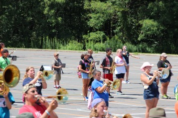 Tamaqua Raider Band Camp, Middle School Parking Lot, Tamaqua, 8-13-2015 (170)
