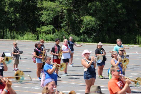 Tamaqua Raider Band Camp, Middle School Parking Lot, Tamaqua, 8-13-2015 (171)