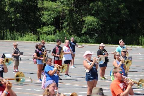 Tamaqua Raider Band Camp, Middle School Parking Lot, Tamaqua, 8-13-2015 (171)