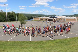 Tamaqua Raider Band Camp, Middle School Parking Lot, Tamaqua, 8-13-2015 (17)