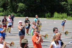 Tamaqua Raider Band Camp, Middle School Parking Lot, Tamaqua, 8-13-2015 (173)