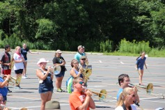Tamaqua Raider Band Camp, Middle School Parking Lot, Tamaqua, 8-13-2015 (174)