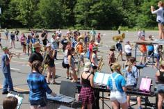 Tamaqua Raider Band Camp, Middle School Parking Lot, Tamaqua, 8-13-2015 (177)