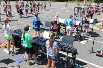 Tamaqua Raider Band Camp, Middle School Parking Lot, Tamaqua, 8-13-2015 (181)