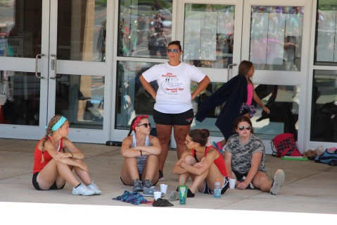 Tamaqua Raider Band Camp, Middle School Parking Lot, Tamaqua, 8-13-2015 (182)
