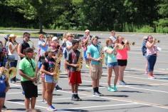 Tamaqua Raider Band Camp, Middle School Parking Lot, Tamaqua, 8-13-2015 (183)