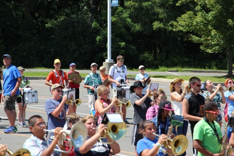Tamaqua Raider Band Camp, Middle School Parking Lot, Tamaqua, 8-13-2015 (190)