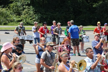 Tamaqua Raider Band Camp, Middle School Parking Lot, Tamaqua, 8-13-2015 (192)